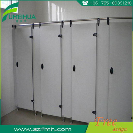 Office Phenolic Resin Board Toilet Partitions pictures & photos