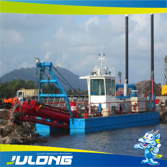 Diesel Engine Electrical Powered Small Sand Dredging Machine Equipment From China Good Price pictures & photos