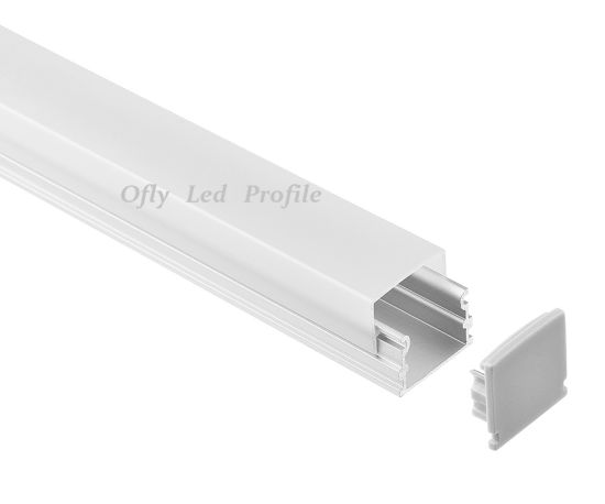Curved LED Aluminum Extrustion for LED Strip Lighting Linear LED Profile pictures & photos