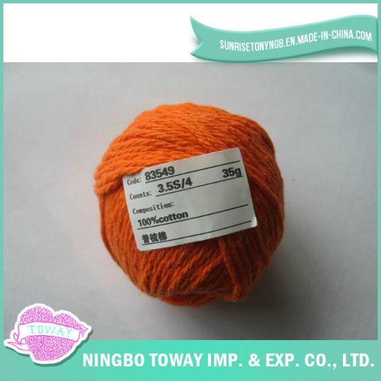 100% Cotton Cross Stitch Thread Gloves Wool Knitting Yarn