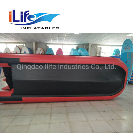 Ilife PVC Hypalon Inflatable Boat Zodiac Fishing and Sports Boat Dinghy Yacht Rescue Rowing Boat