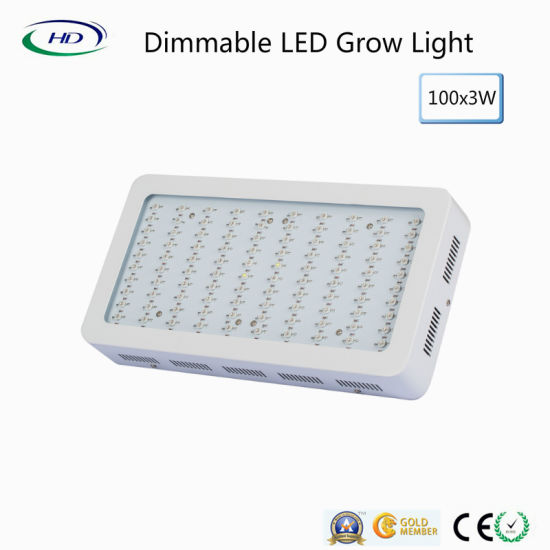 Popular Dimmable 100*3W LED Grow Light for Indoor Plant Gardening pictures & photos