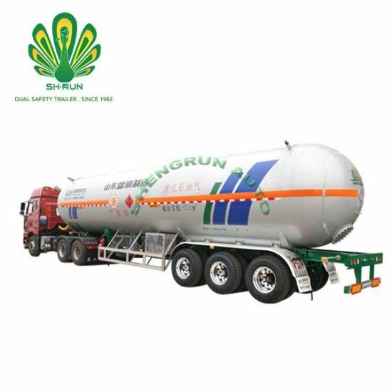 LPG Propane LNG ASME Standard Transport Semi Trailer