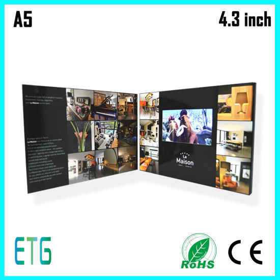 2017 Promotional Gift Video Brochure Card pictures & photos