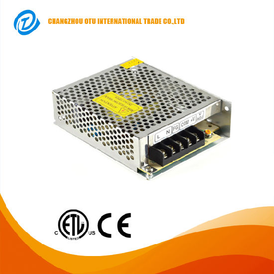 75W China Factory AC110V/220V DC5V 12V 24V 48V for LED Strip Light Single Output Swtiching LED Power Supply