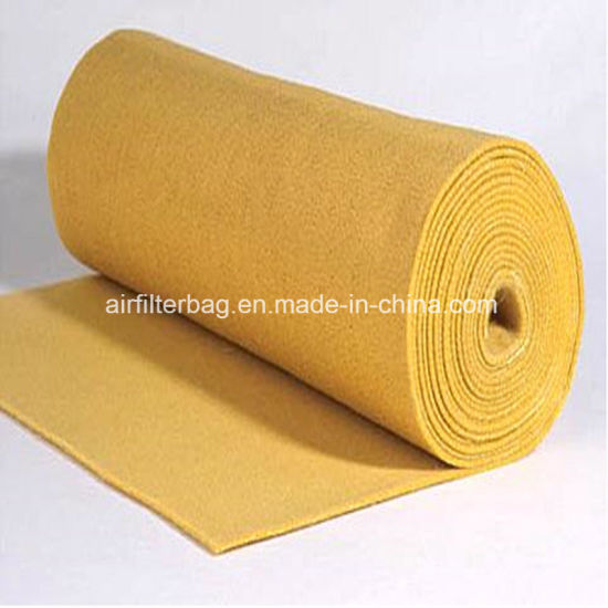 P84 Oil&Water Repellent Needle Felt/Filter Cloth/Filter Media (Air Filter) pictures & photos