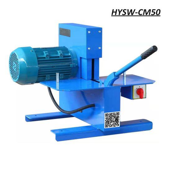 Hysw-Cm50 Comes with Two Blades 380V 50Hz Hydraulic Hose Cutting Machine