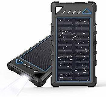 2019 Amazon Hot Selling Universal Portable Charger Outdoor Waterproof Portable Solar Power Bank for Phones pictures & photos