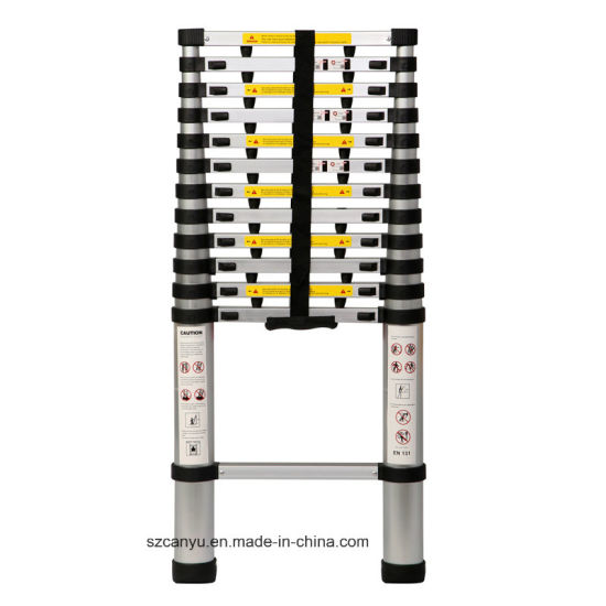 2.6m/3.2m/3.8m En131-6 Telescopic Ladder, Aluminum Step Ladder, Ladder Aluminum pictures & photos