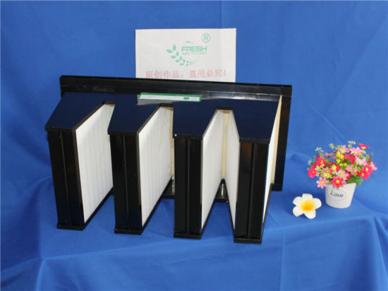 OEM 4V Pack Rigid Air Filter Industrial Box Manufacturer pictures & photos