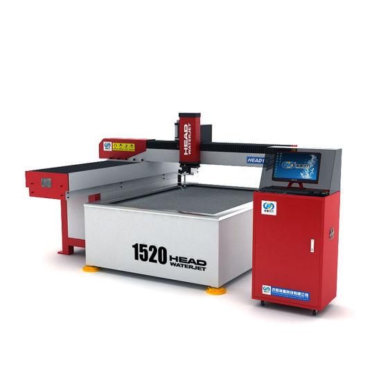 Head Metal Waterjet Cutter CNC Cutting Machine for Price