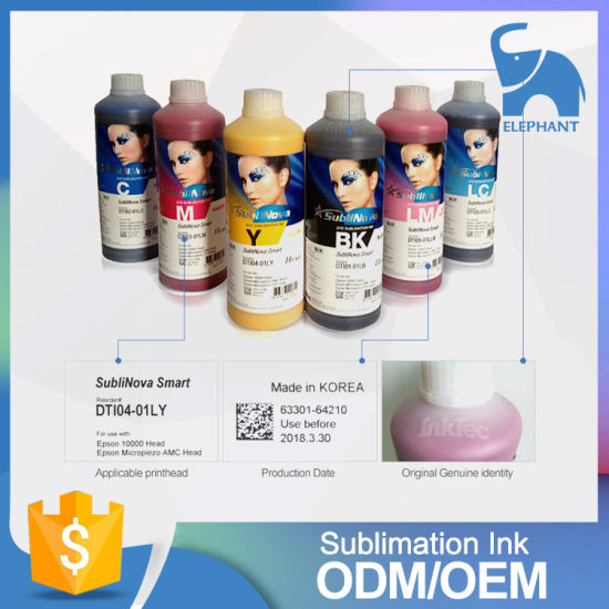 Vivd Color Korea Inktec Sublimation Ink for Sublimation Printer pictures & photos