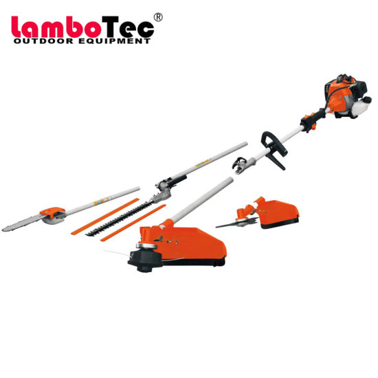 Multifunction Brush Cutter Tiller/Chainsaw/Long Reach Pole Saw/Hedge Trimmer