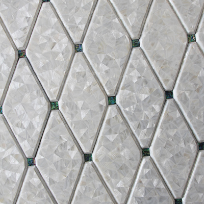 Hot Sale Veneer Mother of Pearl Shell Mosaic Building Material pictures & photos