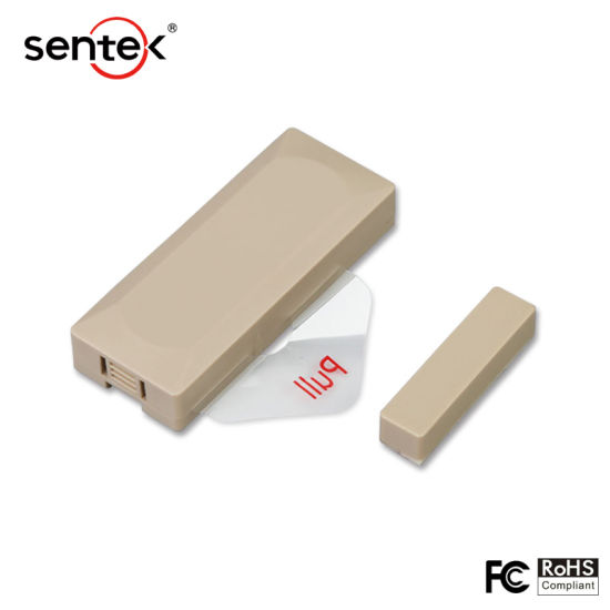 Wireless Magnetic Contact Door Sensors, Tamper Alarm Wc10