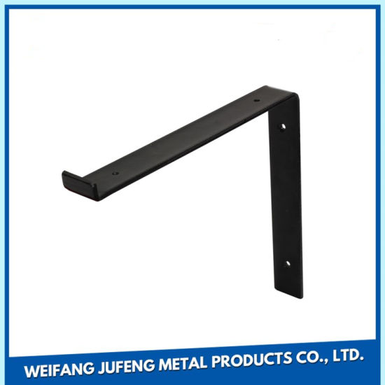 Precision Stainless Steel/Aluminum Stamping Shelf Support Corner Brace  Angle Bracket