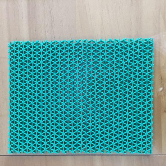 Colorful Wet Resistance PVC S Curshion Mat