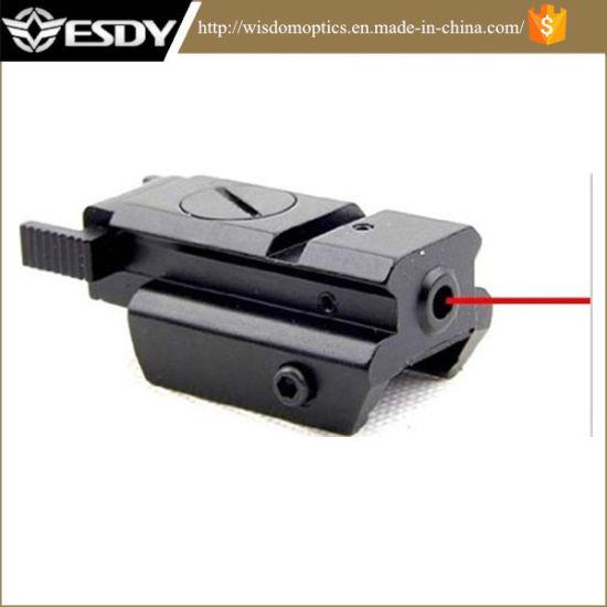 Tactical 20mm Picatinny Pistol Gun Compact Red DOT Laser Sight
