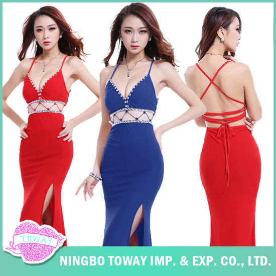 Red Sexy Discount Summer Women S Maxi Dresses For Weddings