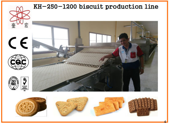 Kh-600 Multifunctional Biscuit Machine for Food Machine