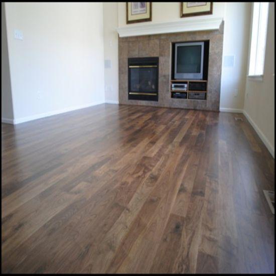 China Uv Lacquered Engineered Walnut Wood Flooring China Hardwood