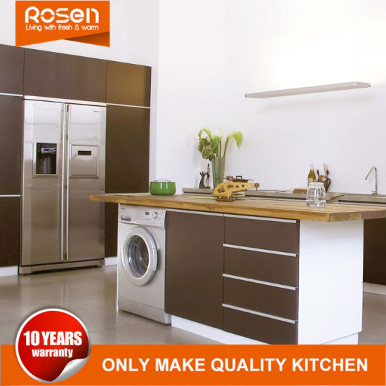 China Modern Style MDF Matt Grey Lacquer Kitchen Furniture Cabinets - Matt grey kitchen cupboards