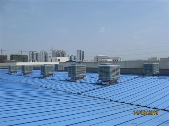 Big Airflow Air Cooler, Strong Air, Evaporative Air Cooler for Factory Use pictures & photos