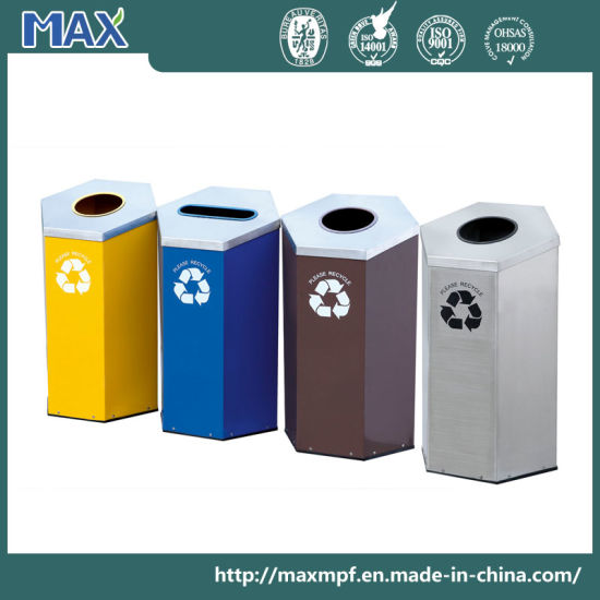 Interior Color Coded Waste And Recycling Bin