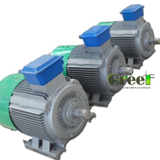 China 10kw 100kw 1MW Permanent Magnet Alternator, Low Rpm Pma Pmg