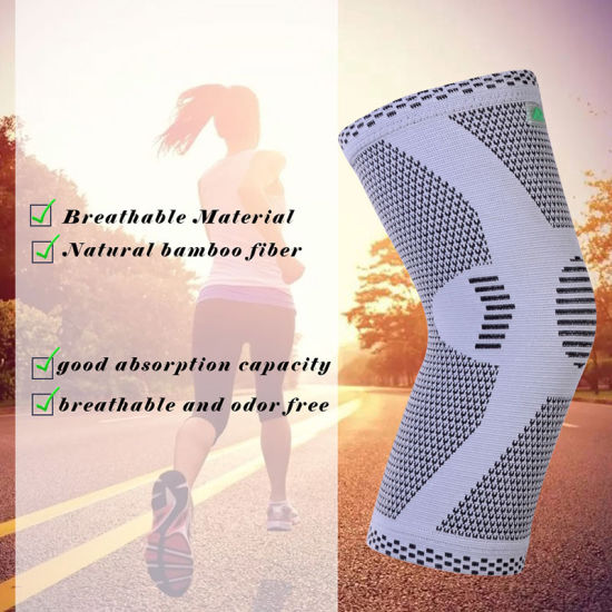 Custom Design Compression Fit Support Recovery Breathable Knee Brace