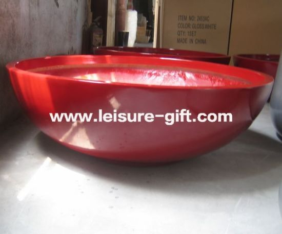 Fo-247 Bowl Shape Fiberglass Flower Pot pictures & photos