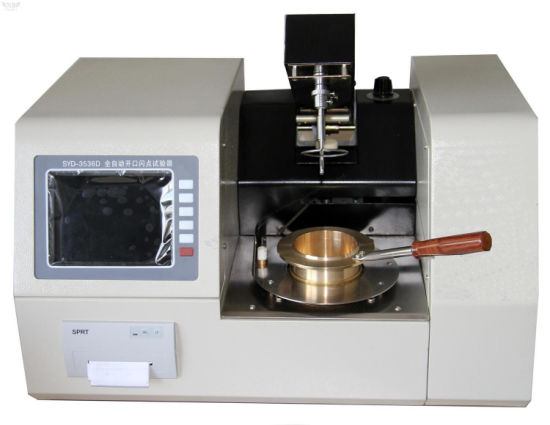 Laboratory Instrument Fully-Automatic Cleveland Open Cup Flash Point Tester pictures & photos