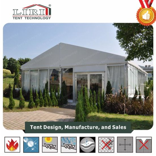 20 by 25m Wedding Tent Wholesale Mobile Wedding Tents with Glass Wall for Sale & China 20 by 25m Wedding Tent Wholesale Mobile Wedding Tents with ...