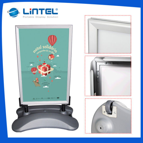 China Double Sided Poster Board Aluminum Outdoor Advertising Sign ...