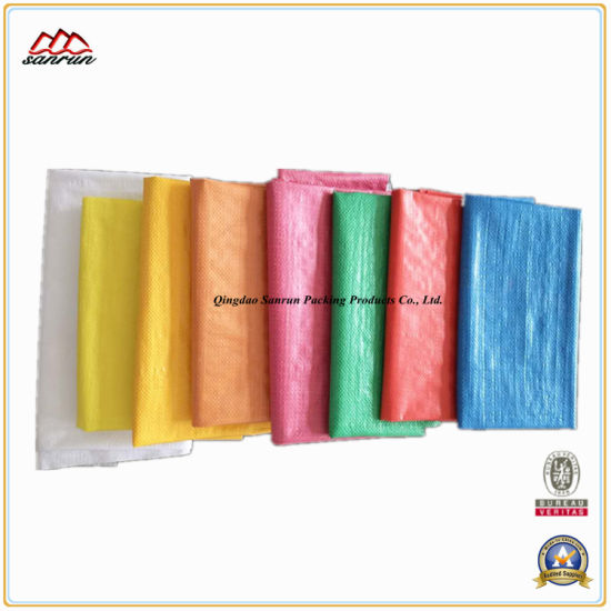 Colorfull Woven Poly Bag for Packing Flour pictures & photos