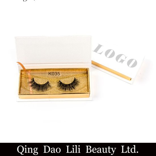 f0de97c8b7c Custom Eyelash Packaging Premium Mink Lashes Private Label 3D Mink Eyelash  pictures & photos