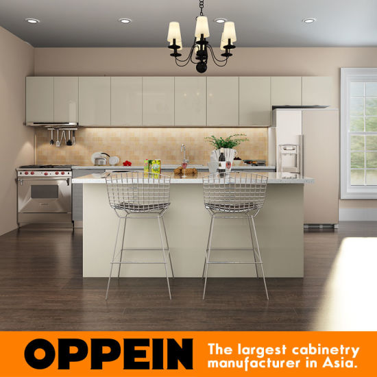 China Modern Grey HPL Wood Wholesale Kitchen Furniture
