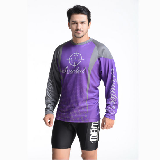 100% Polyester Man′s Sulimation Print T-Shirt pictures & photos