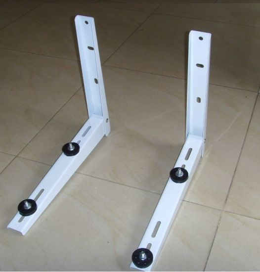 Galvanized Wall Mounting Support Bracket for Split Air Conditioner Outdoor Parts