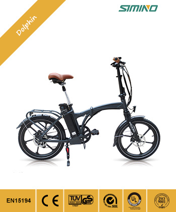 "China Best Price High Quality 20""Folding Electric Bicycle pictures & photos"