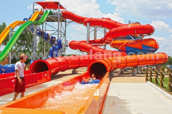 Snake Combination Water Slide, Big Water Park Equipment for Sale