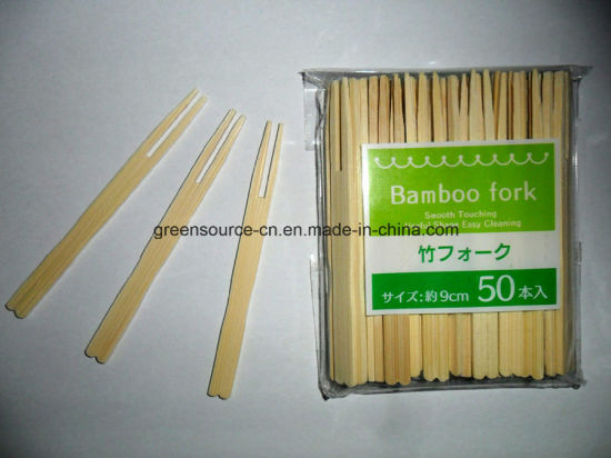 Bamboo Fork / Bamboo Skewers pictures & photos