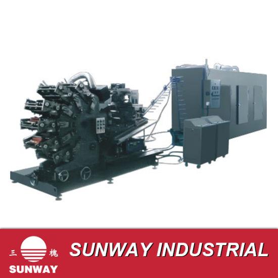Six Color Digital UV Rotating Printing Machine