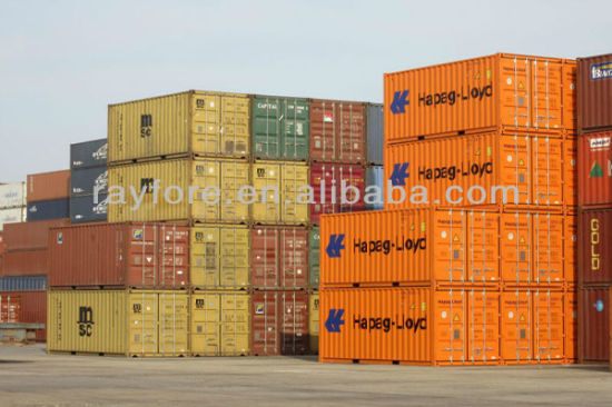 Second Hand Standard Container From Container Yard