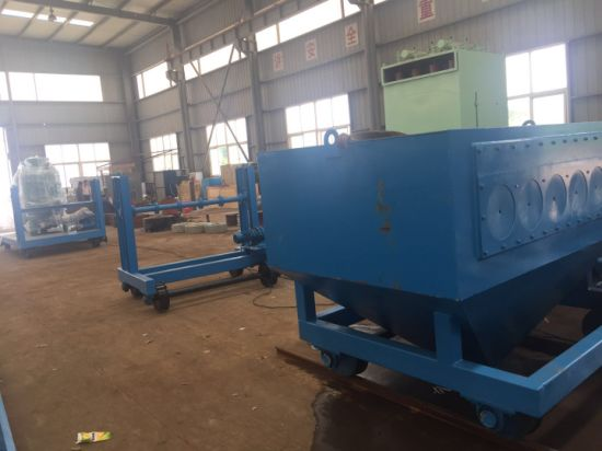 Air Operated Muti-Pipe Internal Sand Blasting Machine pictures & photos