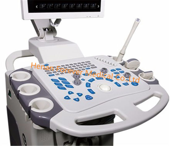 Yj-U80t Trolley 3D Color Doppler Ultrasound Scanner pictures & photos