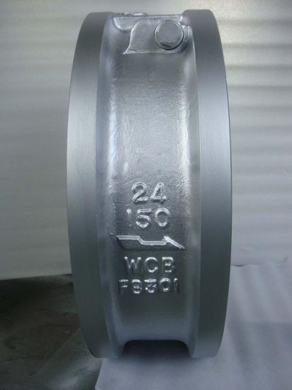 Wafer Single Plate Type Check Valve pictures & photos