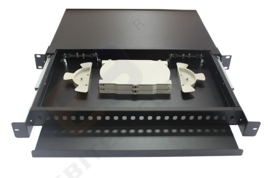 24 Port for LC Sm Dx Blank Fiber Patch Panel pictures & photos