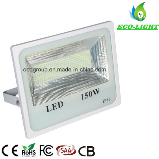 New 150W Integrated Die-Casting IP66 Waterproof Outdoor Landscape Lighting Special SMD2835 LED Floodlight