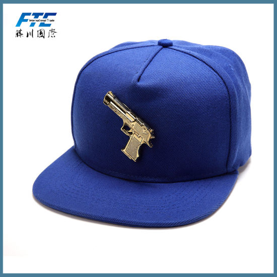 2ab9513dd98a9 Plastic Letters Logo Snapback Hat Custom Metal Plate Snapback Hat pictures    photos